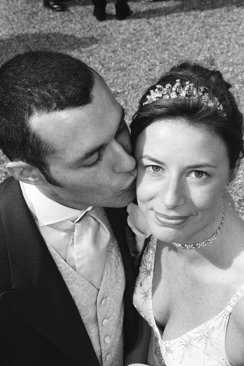 Happy Bride .