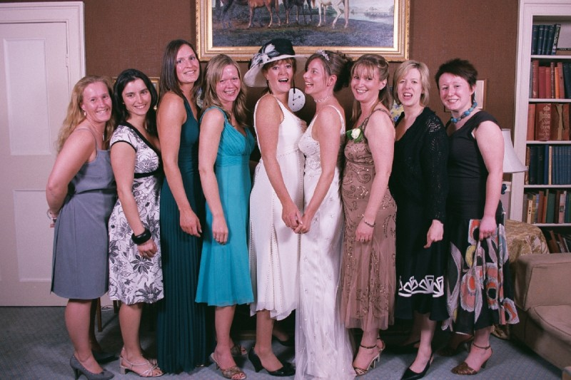 The Brides Ladies .