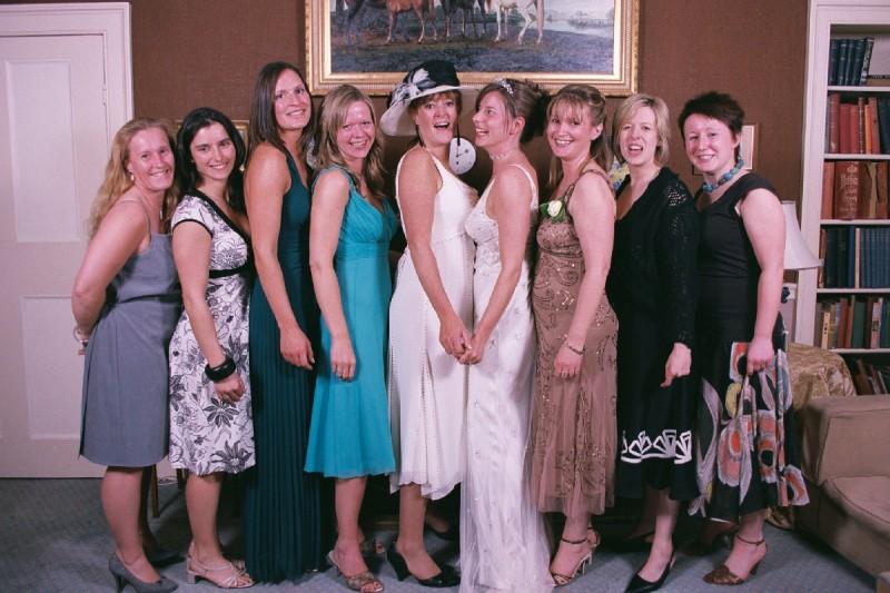 The Brides Ladies .